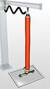 Manipulateur sous vide palonnier grande hauteur - Capacité de charge (kg) : 120 - 180 - 275