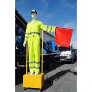 Mannequin articulé de signalisation - Poids (Kg) : 40