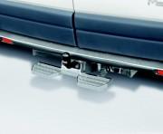 Marche pied arrière véhicule utilitaire - Marchepied : 230 x 140 mm  -  Version : Marche double ou simple