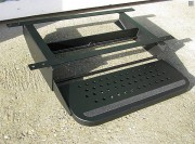Marche pied utilitaire mécanique - En acier -  Dimensiosn Lxl: 510x200 mm