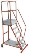 Marche-pieds industriel en acier - Charge d'exploitation (kg) : 200