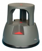 Marchepied cylindrique roulant - Hauteur plateforme (mm) : 370