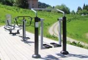 Marcheur fitness extérieur - Améliore les fonctions cardio-pulmonaires