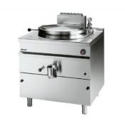 Marmite à gaz chauffage indirect 150 litres - Réglage de la température marmite à 2 niveaux