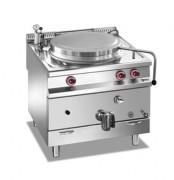 Marmite à gaz professionnelle - Marmite gaz chauffage direct, 100 litres