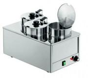 Marmite bain-marie - Capacité : 3 x 4 litres