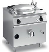 Marmite électrique à chauffage indirect - Contenance : 1 x 80 litres - Régulateur d'énergie