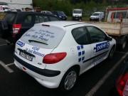 Marquage adhésif de voiture - Lettres découpées et Impression numérique