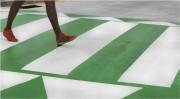 Marquage au sol en thermoplastique - Dimensions mm : De 400 x 400 à 5000 x 150