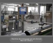 Machine de marquage jet d'encre - Marquage des surfaces irrégulières et flexibles