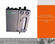 Machine de marquage jet de peinture - Marquage sans contact, repérage de pièces (par points ou bandes)