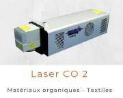 Marquage laser CO2 - Pour métaux organiques