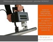 Marquage micro percussion - Portable et autonomie sur batterie de 8 h