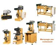 Marquage par roulement - Pour pièces planes ou cylindrique - Manuel ou électrique (horizontal ou vertical)