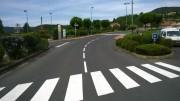 Marquage routier au sol - Peinture ou résine a froid