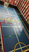 Marquage sol multisports - Résine sol pour terrain de sport