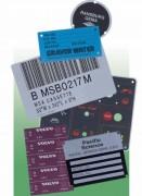 Marquage sur plaques aluminium métalphoto - Épaisseur de la plaque : 0.08 à 3.2 mm
