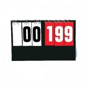 Marqueur de score basket - Dimensions des plaques chiffres : 18X7cm