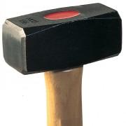 Marteau massette couple tête bombée - Longueur (tête) : 155 - 170