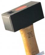 Marteau massette tête carrée - Dimensions tête (Lxlxh) mm : 100 x 41 x 45