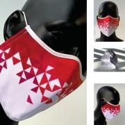 Masque de protection design lavable à 60° - Personnalisé, 3 couches, réutilisable