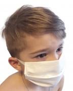Masque de protection lavable pour enfant - En coton 3 couches réutilisable et lavable à 60°