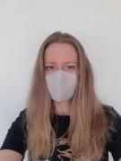 Masque de protection lavable - Lavable et imperméable - Lacet ou élastique