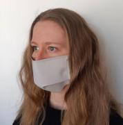 Masque de protection lavable à lacets - Lavable et imperméable - à Lacets