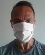 Masque de protection lavable 60° en 8 jours chez vous - Masque de protection non tissé 3 couches réutilisable et lavable à 60°