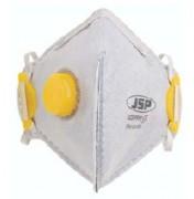 Masque de sécurité FFP2 anti odeur - En fibre - Blanc - Avec valve d'exhalation