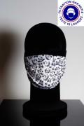 Masque DGA catégorie 1 personnalisé lavable à 60° - Masque de protection DGA catégorie 1 personnalisé