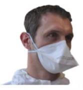 Masque FFP2 (lot de 500) - Lot de 500 - FFP2 NR - Hypoallergénique - EN149:2009
