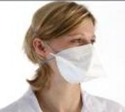 Masque FFP2D grippe A - Par boites de 50 - norme CE - recommandé par le plan Gouvernemental