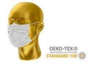 Masque lavable pp non tissé double couche (lot de 500) - PP non tissé double couche, 180 gr - Lavable 60° (5 fois)