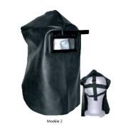 Masque portefeuille soudeur - Porte-filtre (mm) : 105 x 50
