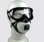 Masque respiratoire anti rayures - 2 types de filtres : P2 ou P3.