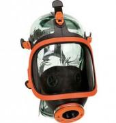 Masque respiratoire panoramique en caoutchouc - Visière anti-rayures, membranes pour circulation de l'air