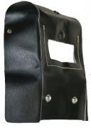 Masque soudeur portefeuille cuir - Porte-filtre (mm) : 105 x 50