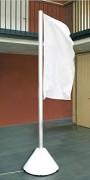 Mât de drapeaux avec ventilation - Hauteur (m) : de 3 à 5.5