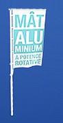 Mât pour drapeau - Mâts en aluminium - en fibre de verre et télescopiques