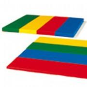 Matelas pliant - Dimensions (L x l x ép.) : 200 x 100 x 10 cm