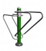 Matériel de musculation pectoraux à barres - Dimension : 1 880 X 535 X 1 595 mm