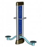 Matériel de musculation pour bassin - Dimension : 1 500 X 550 X 2 000 mm