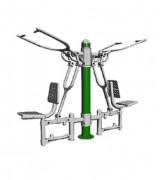 Matériel de musculation pour bras - Dimension : 2 145 X 760 X 1 650 mm