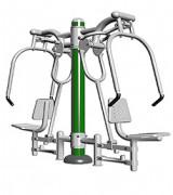 Matériel de musculation pour fonctions cardiaque - Dimension : 2 090 X 700 X 1 920 mm
