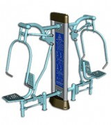 Matériel de musculation pour fonctions respiratoire - Dimension : 2 235 X 700 X 2 000 mm