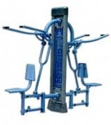 Matériel de musculation pour pectoraux - Dimension : 2 155 X 760 X 2 000 mm