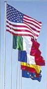 Mats et drapeaux internationaux - Poids de 110 à 130 g/m²