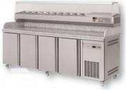 Meuble à pizza en inox - Capacité (L) : De 260 à 815  -   Certifié ISO 9001 et ISO 14001