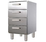 Meuble bas 4 tiroirs - Dimensions (L x l x H) mm :450 x 860 x 605